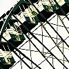Tapeten: the wheel, yellow