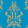 Tapeten: Anakreon, blue gold