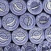 Tapeten: Caviar L, blue