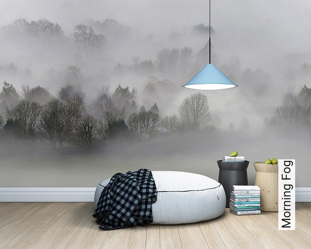 tapete morning fog die tapetenagentur. Black Bedroom Furniture Sets. Home Design Ideas