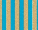 Tapete: Anakreon Stripes, blue gold