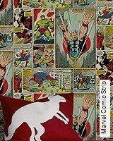 Tapete  - Frischer Wind für Ihre Wohnung Marvel Comic Strip