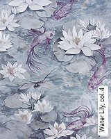 Tapete  - Animal Print Water Lily,  4