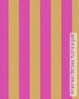 Tapete: Anakreon Stripes, fuchsia gold