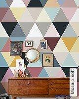 Tapete  - Midcentury Modern Mosaic, soft