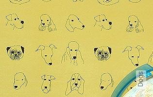 Bild Tapete - Dogs