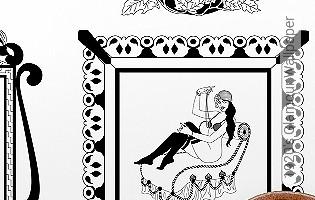 Bild Tapete - 1920's Glamour Wallpaper