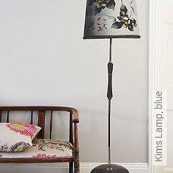 Tapete: Kims Lamp, blue