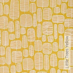 Tapete: Little Trees Yellow