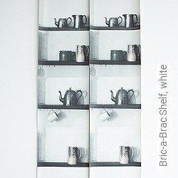 Tapete: Bric-a-Brac Shelf, white