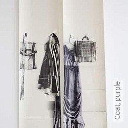 Tapete: Coat, purple