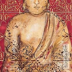 Tapete: Buddha klein