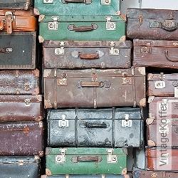 Tapete: Vintage Koffer