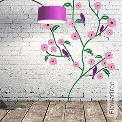 Walltatoo: Flowertree