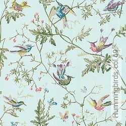 Tapete: Hummingbirds, col.69