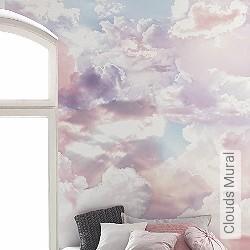 Tapete: Clouds Mural