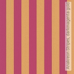 Tapete: Anakreon Stripes, darkmagenta gold
