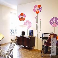 Walltatoo: Hybrid pink