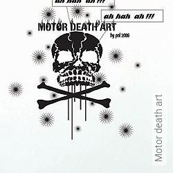 Walltatoo: Motor death art