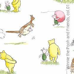 Tapete: Winnie the Pooh and Friends, col.01