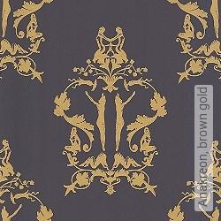 Tapete: Anakreon, brown gold