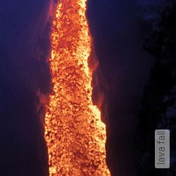 Tapete: lava fall