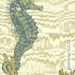 Tapete: Seahorse, col.02