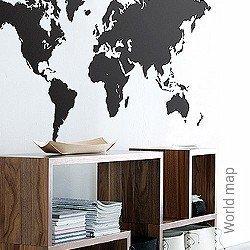 Walltatoo: World map