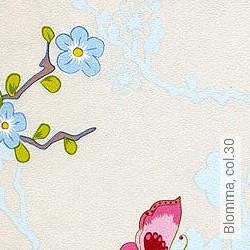 Tapete: Blomma, col.30