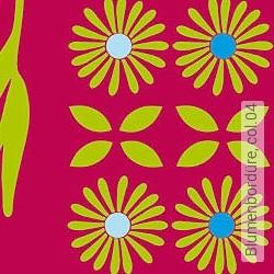 Tapete: Blumenbordüre, col.04