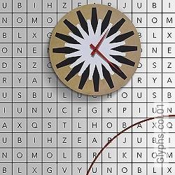 Tapete: Glyphs, col.01