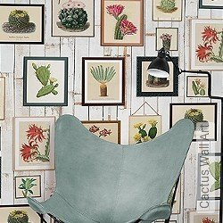 Tapete: Cactus Wall Art