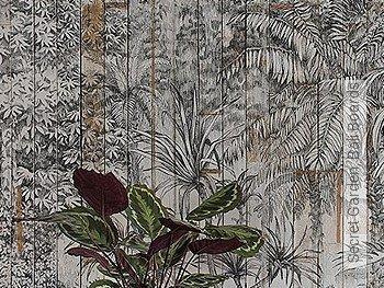 Tapete: Secret Garden, Bali Boards