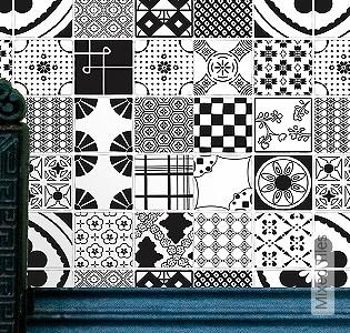 Bild Tapete - Mixed Tiles