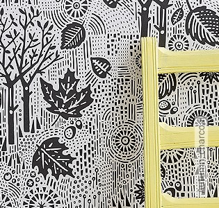 Bild Tapete - Autumn, charcoal