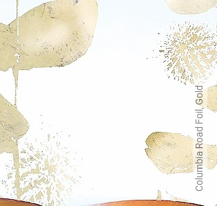 Bild Tapete - Columbia Road Foil, Gold