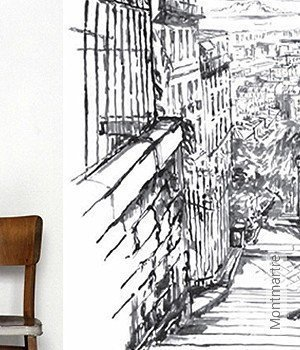 Tapete: Montmartre