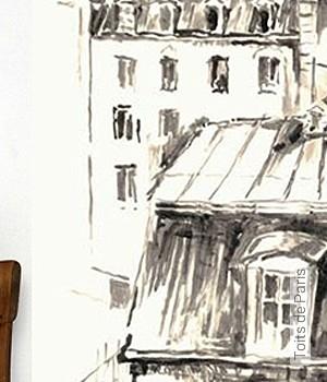Tapete: Toits de Paris
