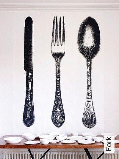 Bild: Tapeten - Fork