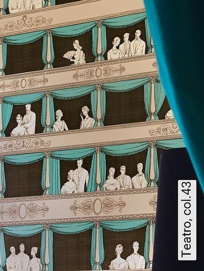 Bild: Tapeten - Teatro, col.43