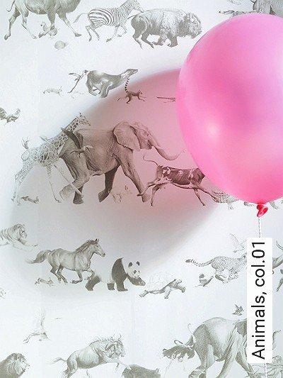 Bild: Tapeten - Animals, col.01