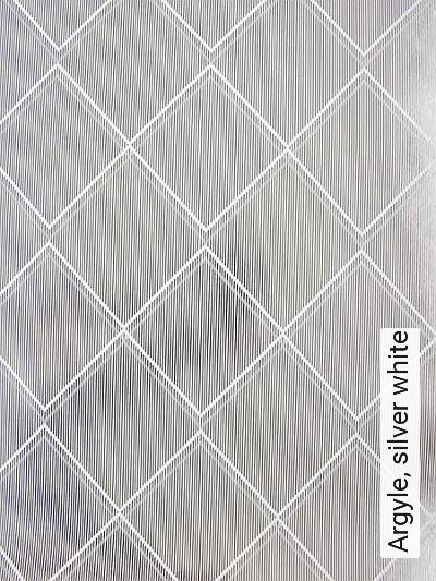 Bild: Tapeten - Argyle, silver white