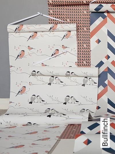Bild: Tapeten - Bullfinch