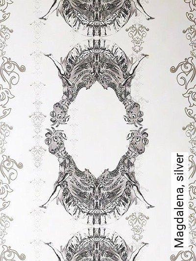Bild: Tapeten - Magdalena, silver
