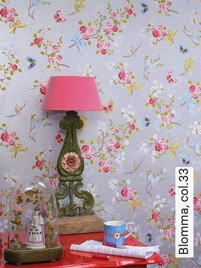 Bild: Tapeten - Blomma, col.33