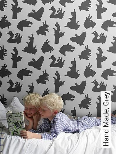 Bild: Tapeten - Hand Made, Grey