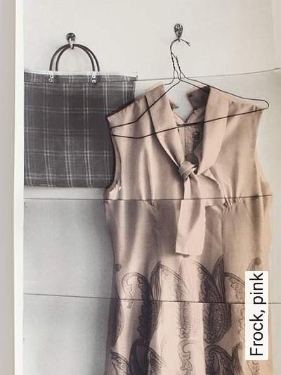 Bild: Tapeten - Frock, pink