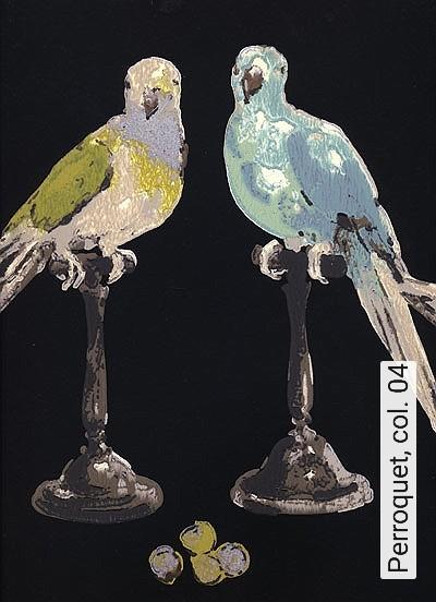 Bild: Tapeten - Perroquet, col. 04