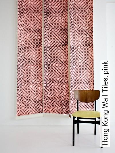 Bild: Tapeten - Hong Kong Wall Tiles, pink