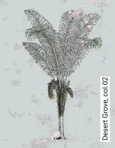 Bild: Tapeten - Desert Grove, col.02